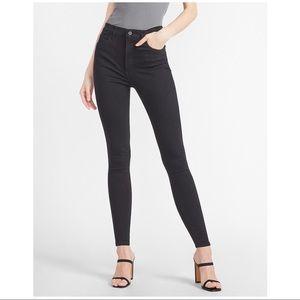 "Express Black ""Legging"" High Rise Jeans"